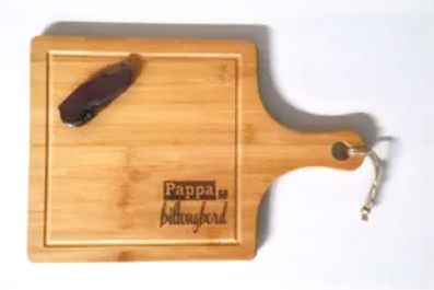 Biltong Board with Knife (Afrikaans)
