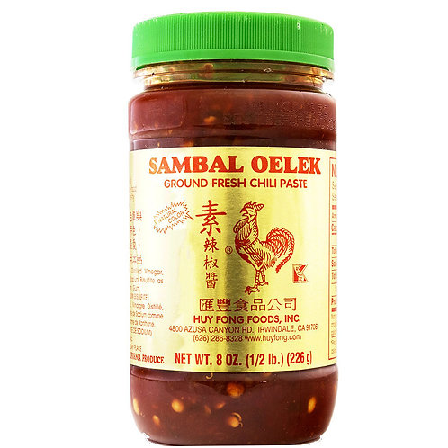 Sriracha Sambal Oelek Chilli Paste 226g