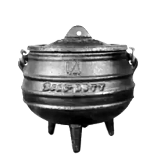 Best Duty #1 (3 Legs) Cast Iron Pot (4.5kg)