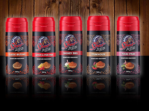 Spur Signature Seasonings 100g