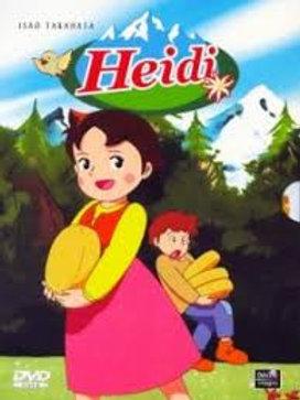 Afrikaans Heidi Dvd's Ep 26-52 (1kg)