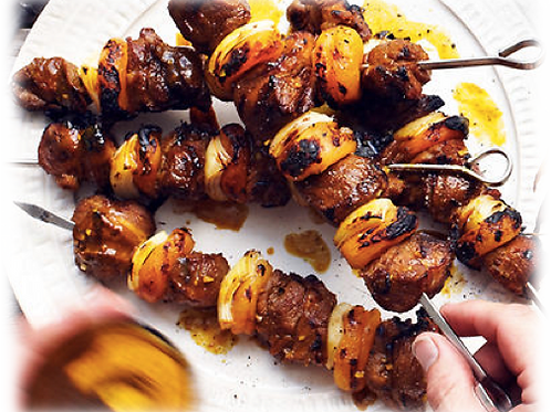 +/- 654g Traditional South African Sosaties(3x skewers)