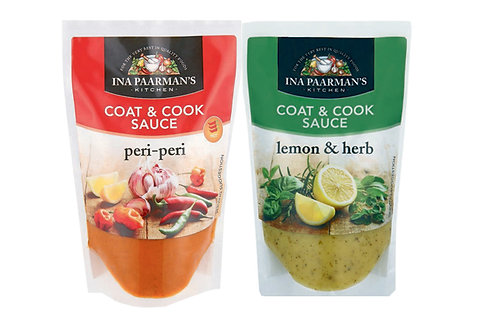 Ina Paarman's Coat & Cook Sauce  200ml