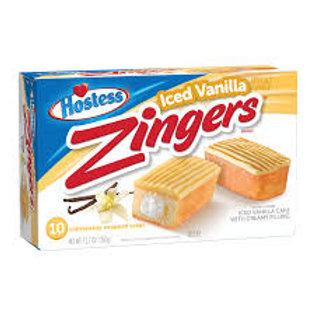 Hostess Iced Vanilla Zingers, 10's  360g
