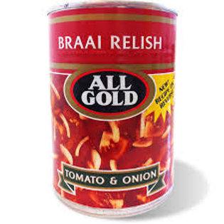 410g All Gold Braai Relish