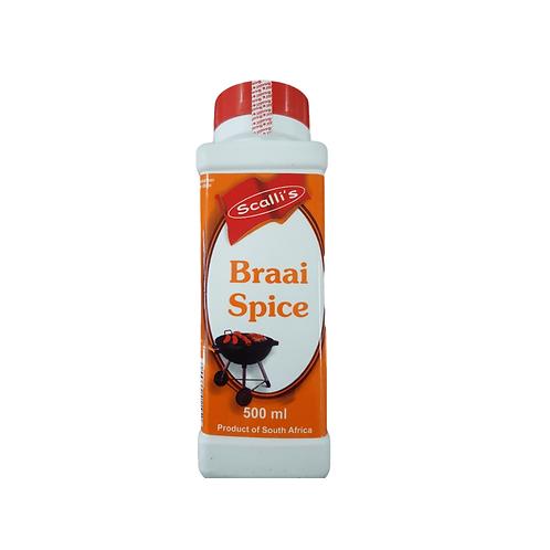 Scalli's Braai Spice 500ml