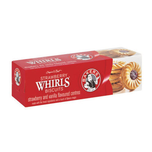 Bakers Strawberry Whirls 200G