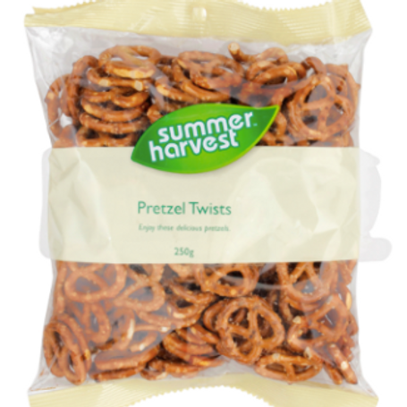 Summer Harvest Pretzels Twists 250g