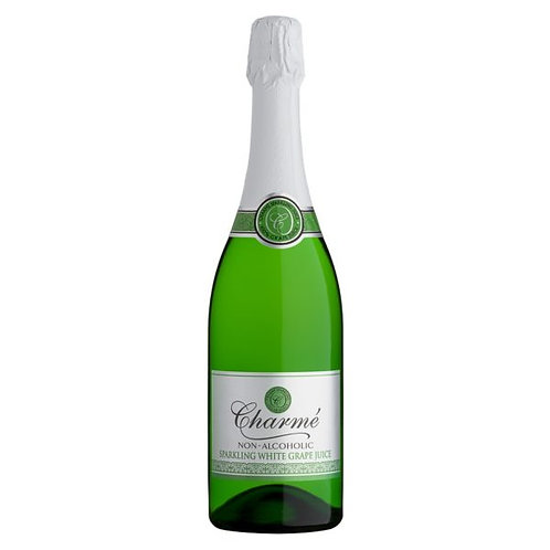 Charme's non alcoholic sparkling grape juice 750ml