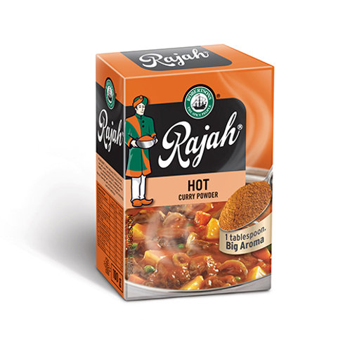 Rajah Curry Powder HOT 100g