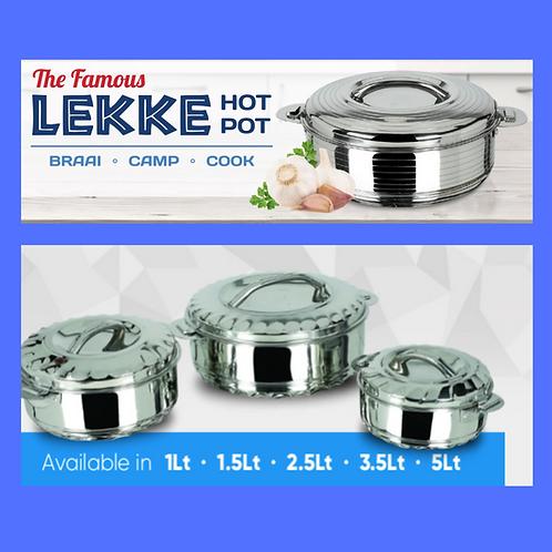 The Famous Lekke Hot Pot