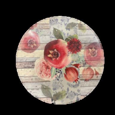 Pomegranate Design Lazy Susan