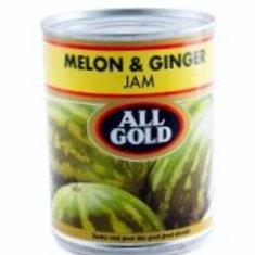 450g All Gold Melon & Ginger Jam