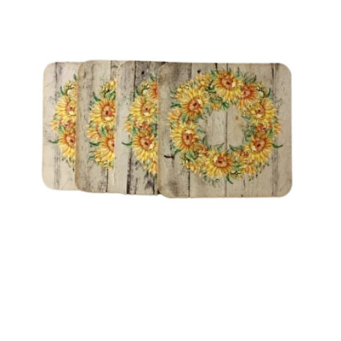 Fynbos Sunflower Design Coasters