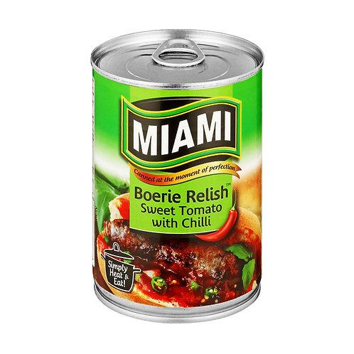 Miami Boerie Relish- Chilli 450g