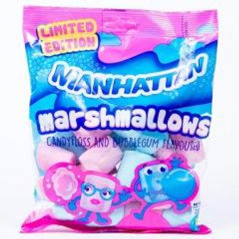 Manhattan Marshmallows Candyfloss & Bubblegum 150g