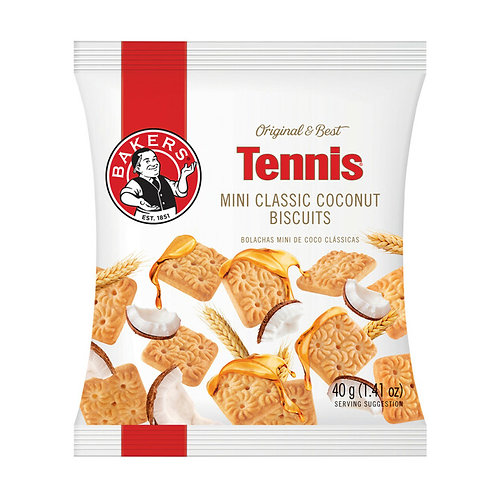 Bakers Mini Classic Coconut Tennis Biscuits 40g