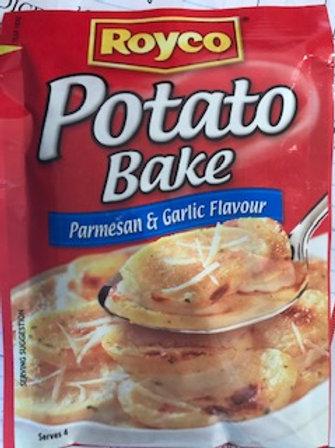 Potato Bake Parmesan & Garlic Royco 49g