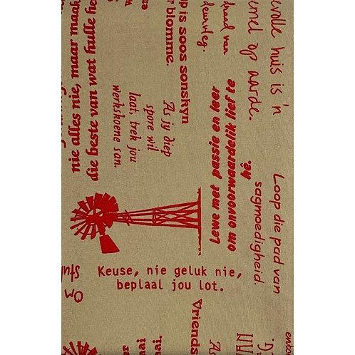 Tablecloth Option C4 (250cm x 150cm)