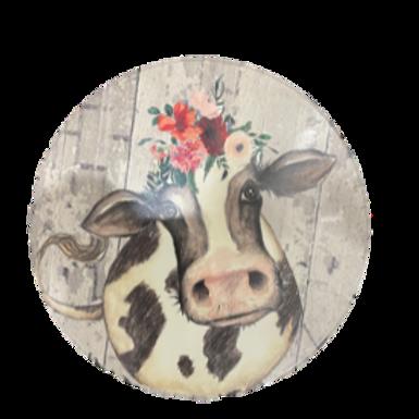 Cow Design Lazy Susan