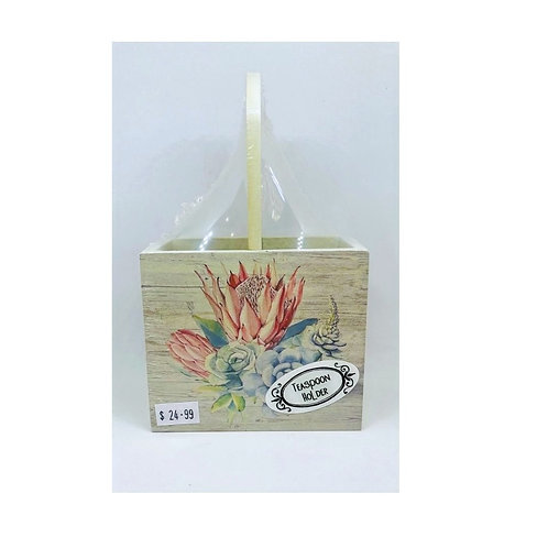 King Protea Design - Teaspoon Holder