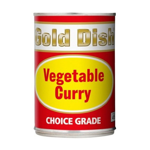 Gold Dish Vegetable Curry 410g