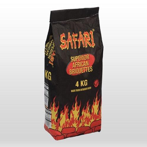Safari Briquettes 4kg (PICK UP ONLY)