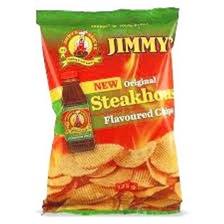 Jimmy's Steakhouse Chips 125g