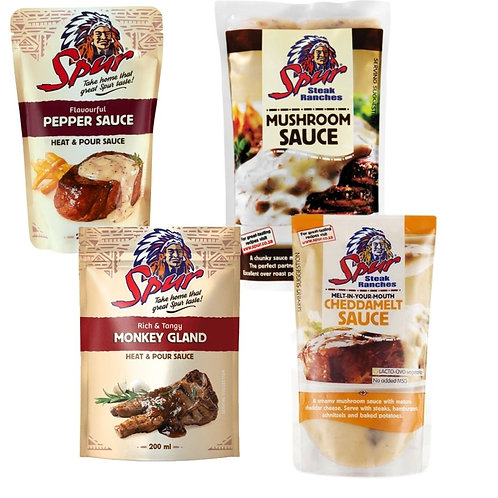 Spur Sauces Heat and Pour 200ml