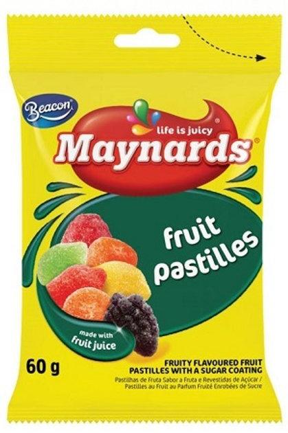Maynards Fruit pastilles 125g