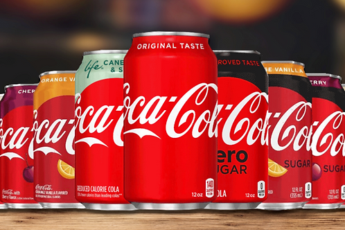 Coca cola (can) 330ml