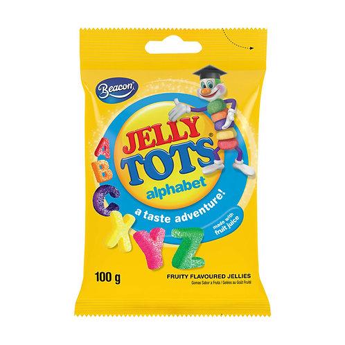 Beacon Jelly Tots Alphabet 100g