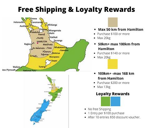 Free Shipping & Loyalty Rewards