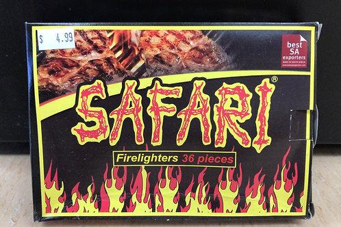 Safari Firelighters 36's  (250g)
