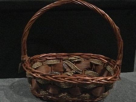 Hamper Basket  with filler and decorations