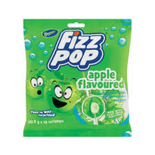 Fizz Pops Apple (10's) 205g