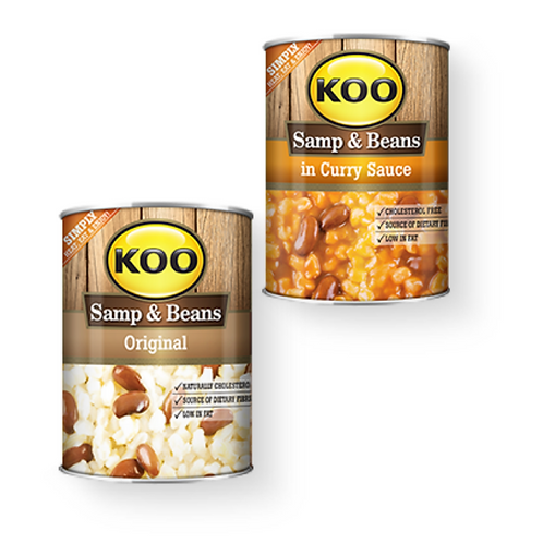 Koo Samp & Beans in Curry Sauce 400g