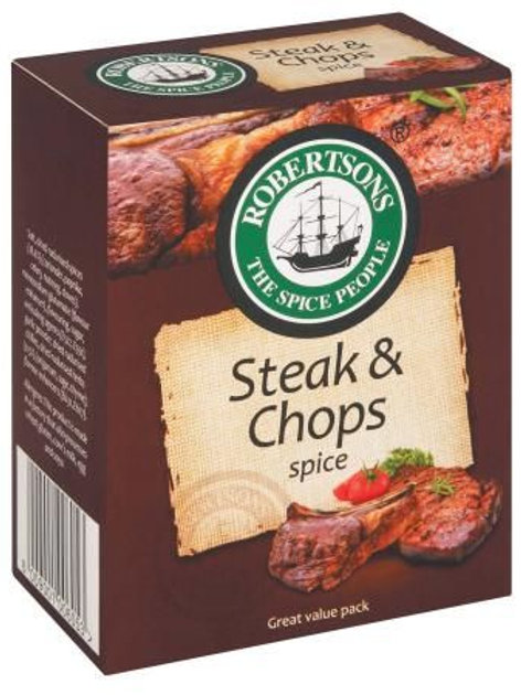 Robertsons Steak & Chops Spice Refills 160g