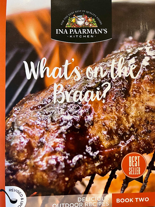 """Ina Paarmans Recipe Book A5 """"What's on the Braai"""""""