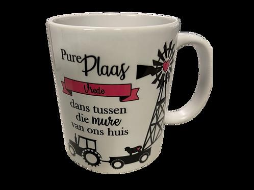 "#34. Coffee Mug ""Pure Plaas"""