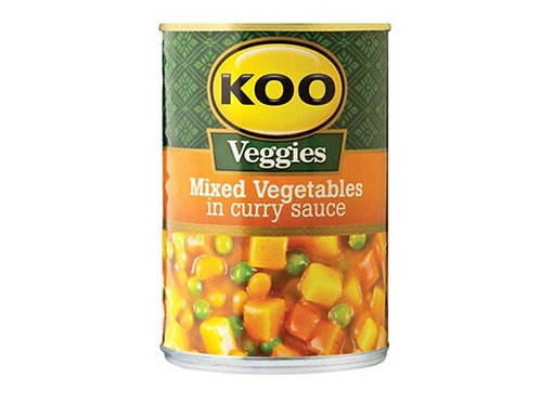 Koo mixed vegetables in curry sauce 410g