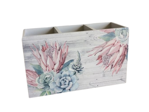 King Protea  Cutlery Holder