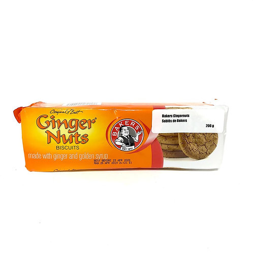 Bakers Gingernuts 200g