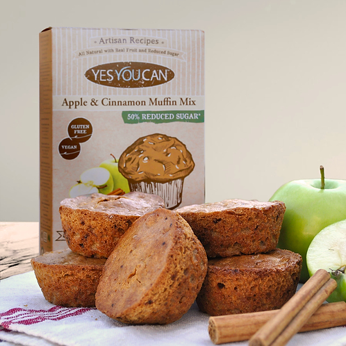 400g Yes You Can Apple & Cinnamon Muffin Mix