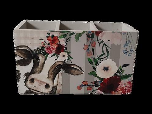 Cow Design -   Cutlery Holder