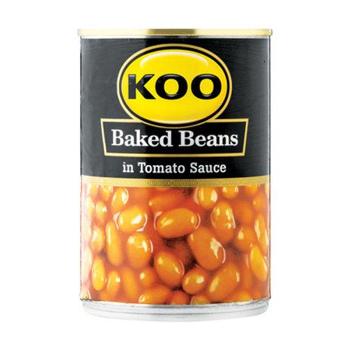 Baked Beans in Tomato Sauce Koo 410g