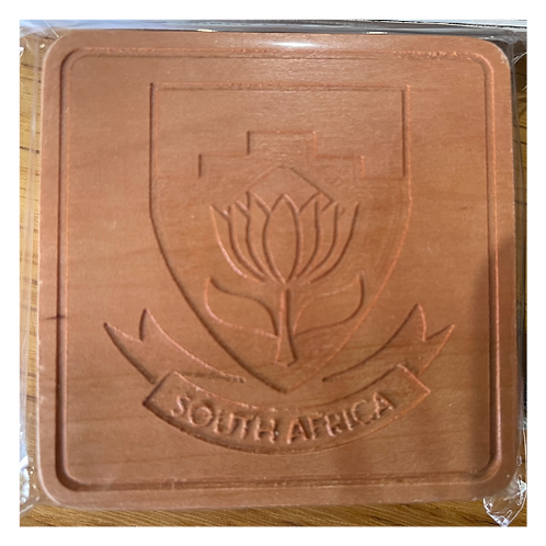 Set of 6 mixed Rugby Coasters