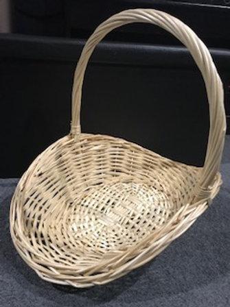 Hamper Basket 48x37x15cm with filler and decorations