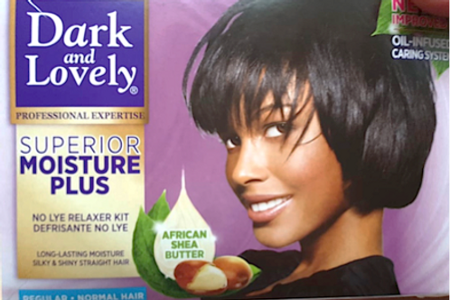 450g DARK & LOVELY SUPERIOR MOISTURE PLUS  - REGULAR(NORMAL HAIR)