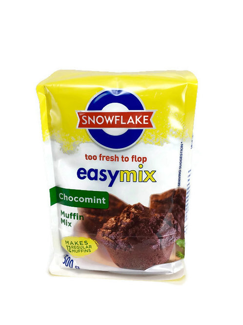 Snowflake Chocomint Muffin Mix 500g